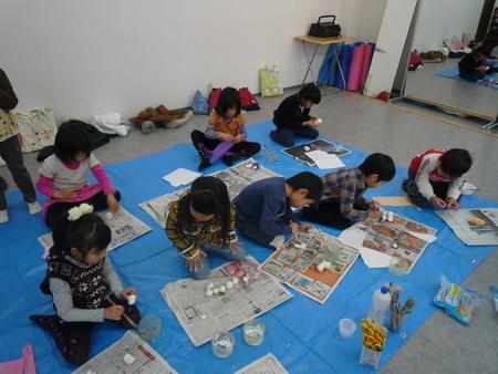 東香里教室「干支の置物づくり」_f0215199_15241354.jpg