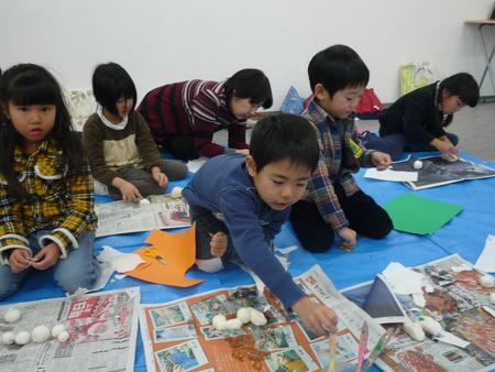 東香里教室「干支の置物づくり」_f0215199_15252087.jpg