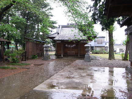 足立遠元館(桶川市神明) : そ...