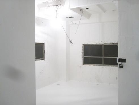 2011.1/14. 作業15日目。床、階段塗装二日目_a0184716_3403752.jpg