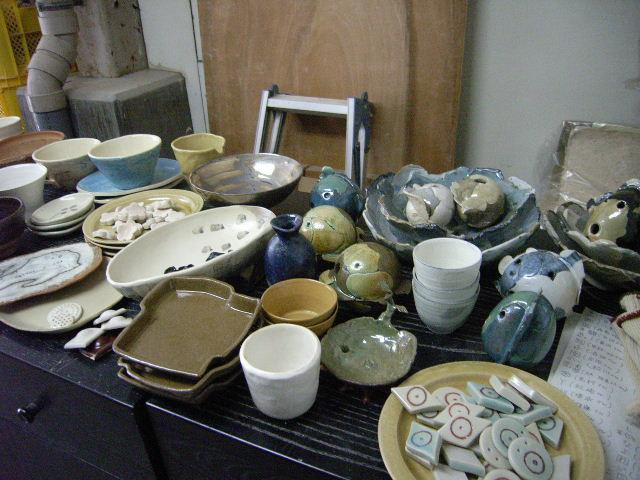 OF(酸化焼成)の窯が出ました&リューター直りました。_e0046128_12542723.jpg