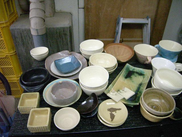 OF(酸化焼成)の窯が出ました&リューター直りました。_e0046128_12544183.jpg