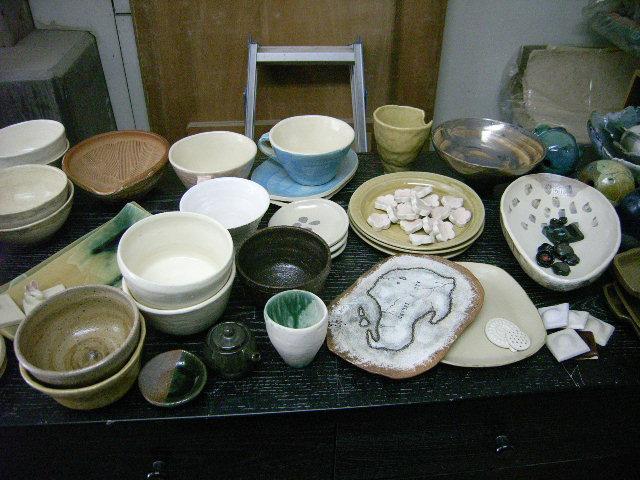 OF(酸化焼成)の窯が出ました&リューター直りました。_e0046128_12545429.jpg