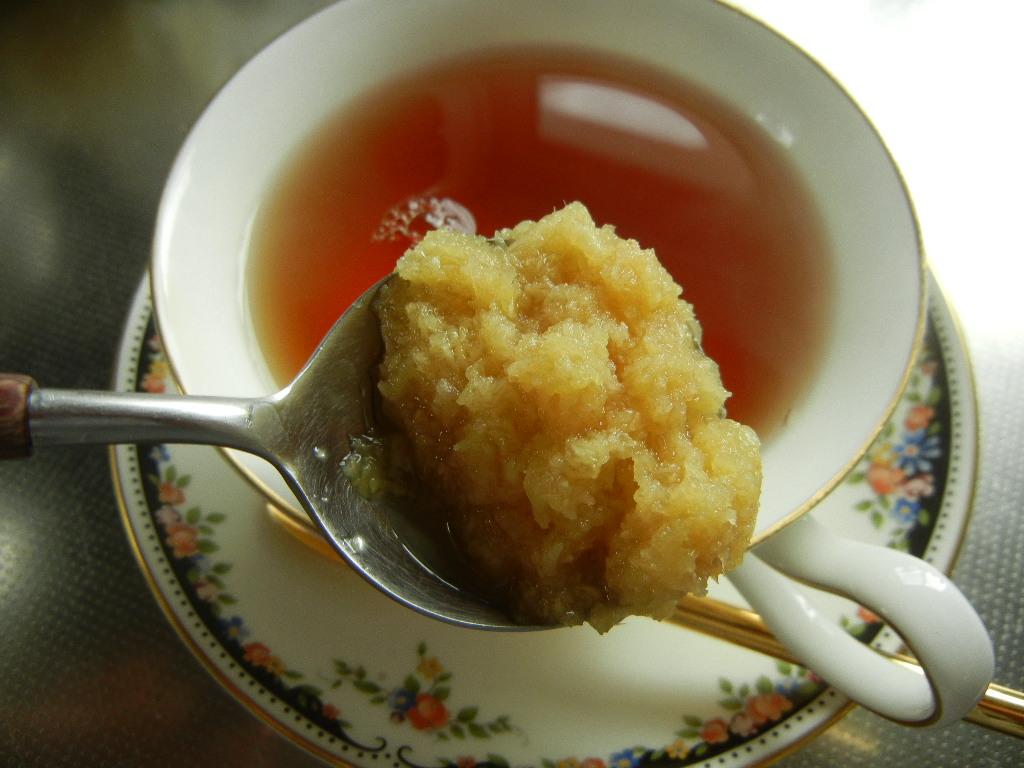 1月15日(土)病み付きになる生姜紅茶!_f0060461_1444933.jpg