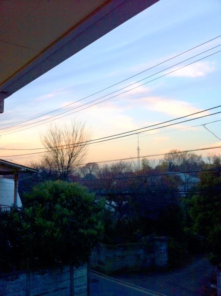 夕焼けマニア 2011 冬_f0236990_2235529.jpg