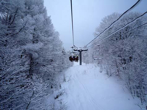 今日の北の峰スキー場_f0096216_2026143.jpg