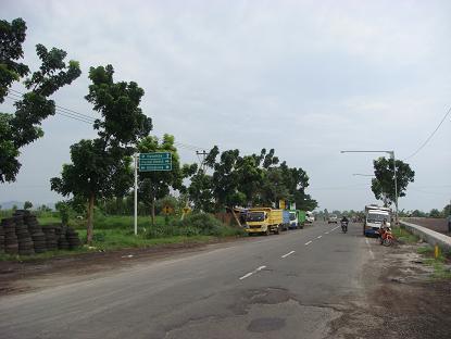シドゥメン村までの道のり バイパス・クルンクン~サトリア地区 By pass Klungkung - Satria_a0120328_1012518.jpg