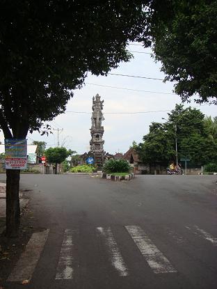 シドゥメン村までの道のり バイパス・クルンクン~サトリア地区 By pass Klungkung - Satria_a0120328_1042245.jpg