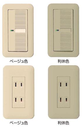 コンセント・スイッチの色:白以外の壁につける場合_d0017039_1425191.jpg