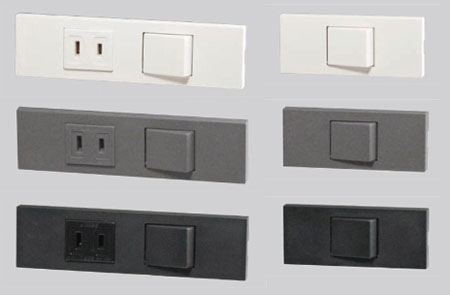 コンセント・スイッチの色:白以外の壁につける場合_d0017039_22191966.jpg