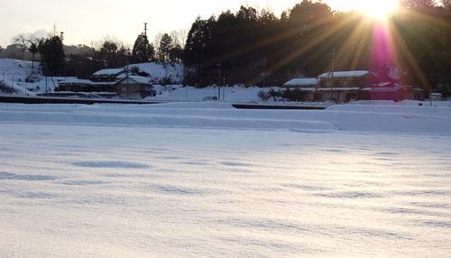 雪の海_f0169675_954483.jpg