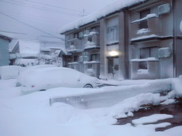 大雪で第2駐車場のみ使用可_c0092877_722494.jpg