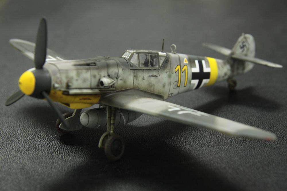 ファインモールドの1/72 Bf109 G-6_f0145483_137561.jpg