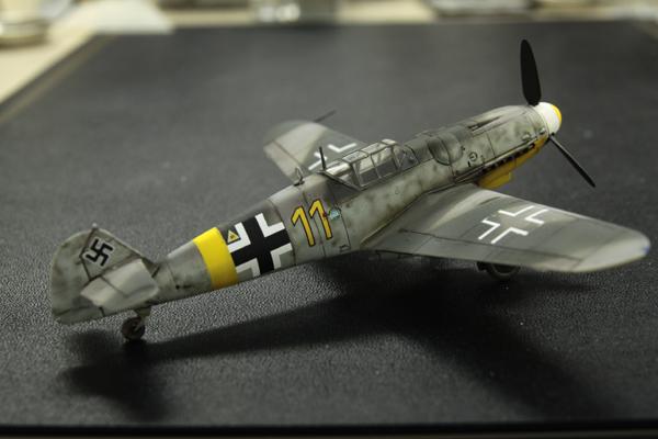 ファインモールドの1/72 Bf109 G-6_f0145483_1404497.jpg