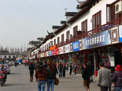 中国出張2010年12月-週末旅行-第一日目-上海から朱家角鎮へ_c0153302_16425913.jpg