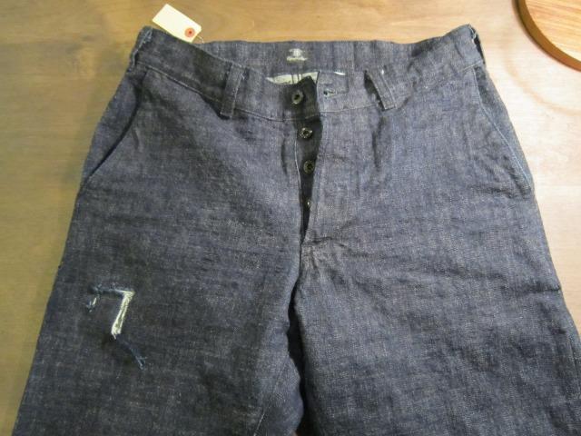 モモのリペア ブランドジーンズ 目だたない様に普通縫い_a0182112_151483.jpg
