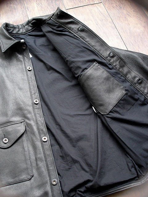 [POST O\'ALLS] & [CORONA] LEATHER JACKET COLLECTION !!_a0132147_22564062.jpg
