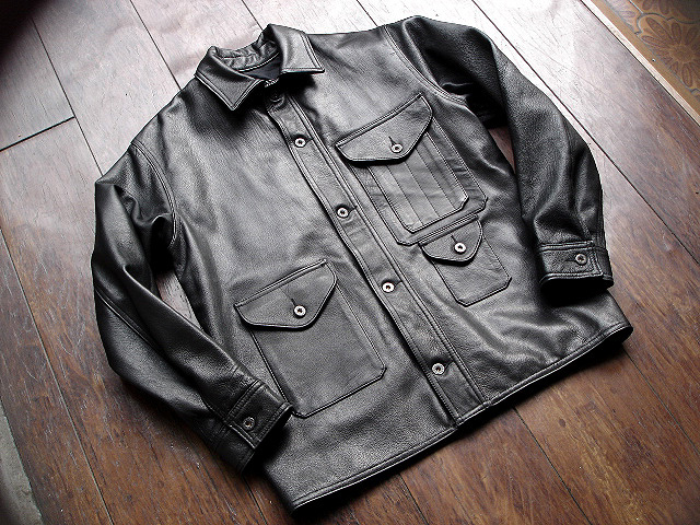 [POST O\'ALLS] & [CORONA] LEATHER JACKET COLLECTION !!_a0132147_22565615.jpg