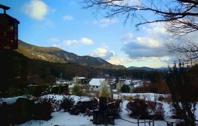 雪景色を観ながら_b0102572_1713353.jpg