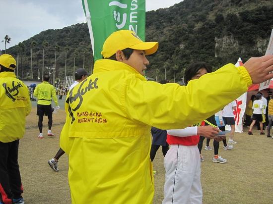 菜の花マラソン in指宿♪_a0079474_2343180.jpg