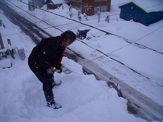 雪下ろし_d0122374_19132971.jpg