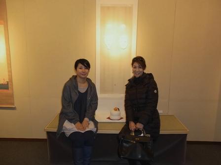 ミヤケマイさんの個展 「八百萬」展_a0138976_20305378.jpg