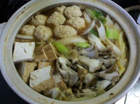 鶏団子鍋_f0019498_1892958.jpg
