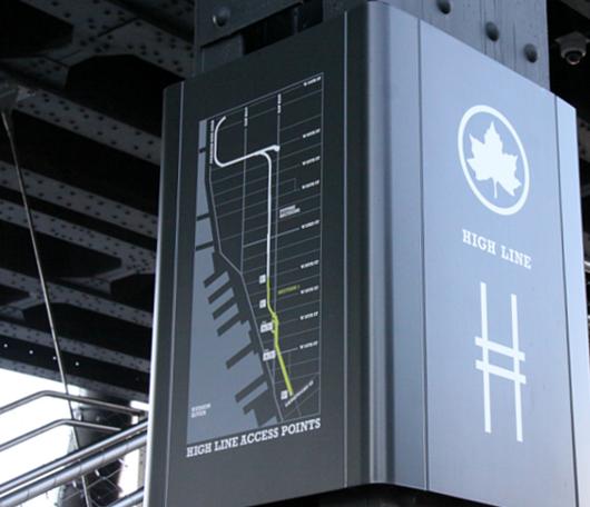 ニューヨークの空中公園、ハイラインも雪景色_b0007805_0271365.jpg
