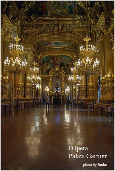 オペラ座ガルニエ宮とパリで最高の食事_f0012154_7365147.jpg