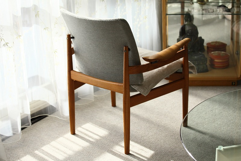 Finn Juhl Easy Chair №192 やっと手に入れた_a0160581_19203799.jpg