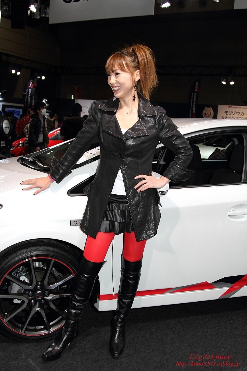 平山愛子 さん(TOYOTA/GAZOO Racing ブース)_c0216181_0573526.jpg
