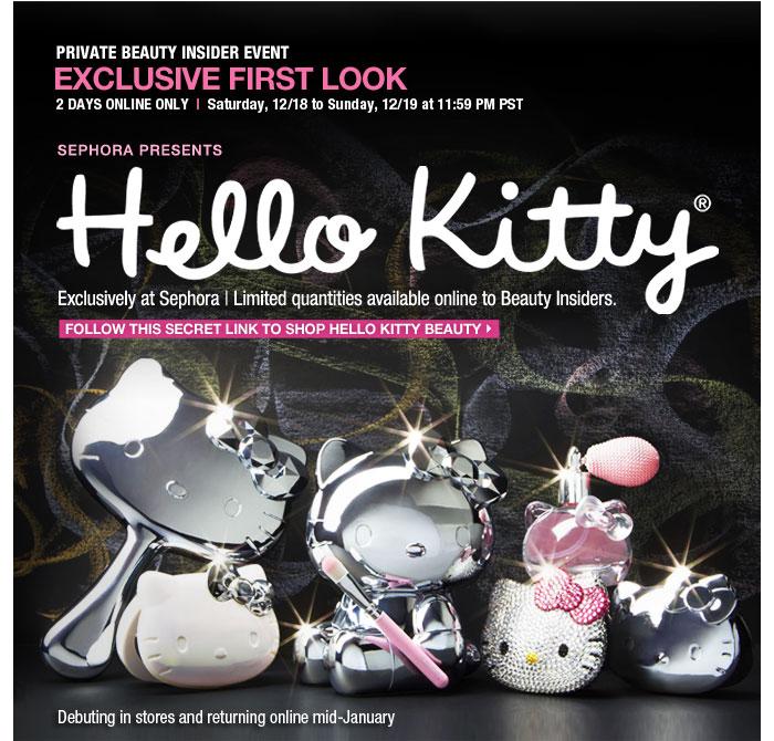 キティちゃんとコスメ専門店のセフォラ(Sephora)のコラボ!!!_b0007805_8114870.jpg