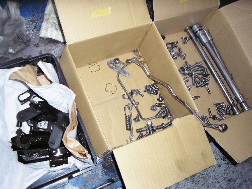 ZEPHYR1100 フルコンプリート車両製作 NO6_d0038712_1901693.jpg