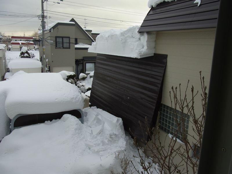 屋根からの落雪_c0025115_2147154.jpg