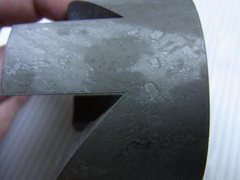 10ミリ厚のパイプ切断_d0085634_1863175.jpg