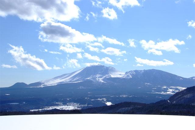 冬の浅間山_a0179837_073177.jpg