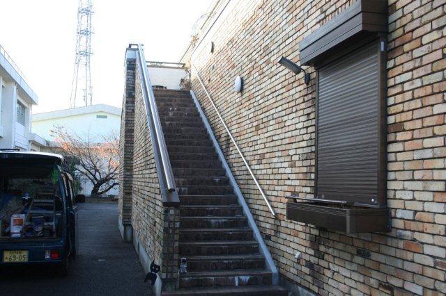 バリアフリー(椅子式階段昇降機)_e0207151_1475637.jpg
