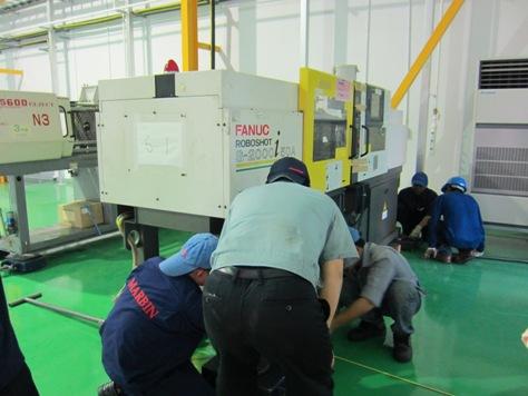 マキノV-33マシニングの搬入_b0100062_194537100.jpg