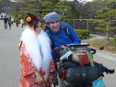 自転車世界一周クラウン アルバロさん_b0209774_1035448.jpg
