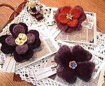 羊毛の花*_e0183990_922883.jpg