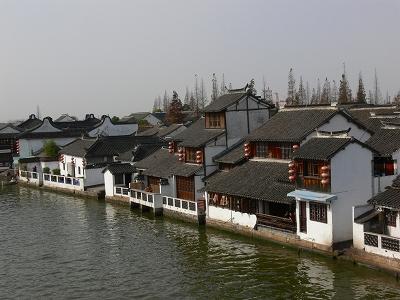 中国出張2010年12月-週末旅行-第一日目-朱家角鎮(I) チケット、放生橋、阿婆茶楼、東・西井街_c0153302_16564385.jpg