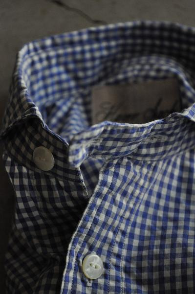 HAVERSACK/ハバーサック ギンガムチェックシャツ