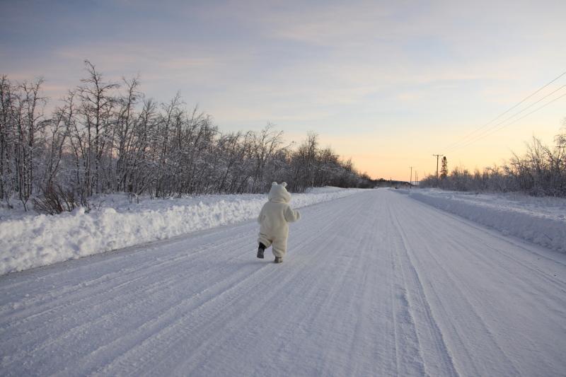 北極圏の雪景色_c0187779_8113858.jpg