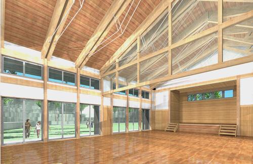 檜山地域拠点施設:実施設計のパース_e0054299_17145782.jpg