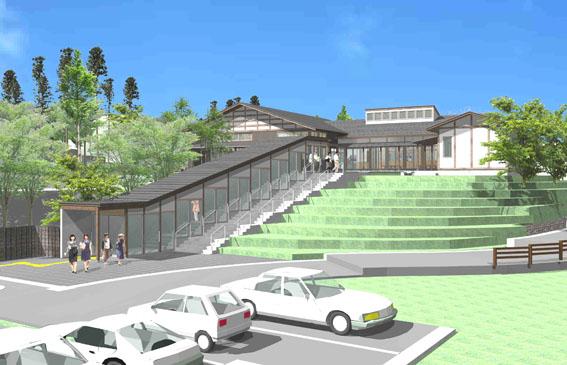 檜山地域拠点施設:実施設計のパース_e0054299_9143997.jpg