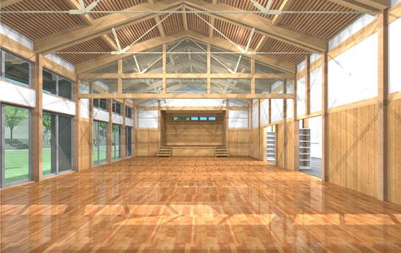 檜山地域拠点施設:実施設計のパース_e0054299_914481.jpg