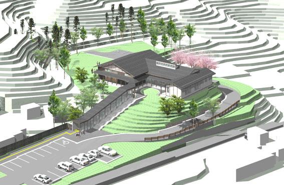 檜山地域拠点施設:実施設計のパース_e0054299_9152236.jpg