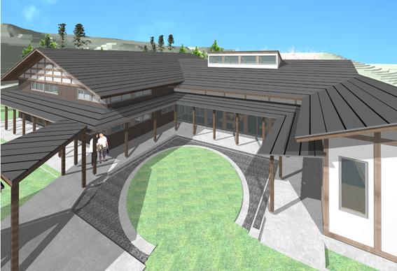 檜山地域拠点施設:実施設計のパース_e0054299_9153912.jpg