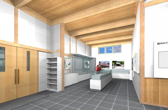 檜山地域拠点施設:実施設計のパース_e0054299_9155271.jpg