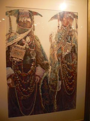 中国出張2010年12月-週末旅行-第一日目-朱家角鎮(II) 課植園、全華水郷芸術館、遊覧船、水路と橋たち_c0153302_1649919.jpg